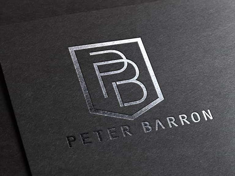 Pro Web-Unisys -Peter-Barron-logo -design