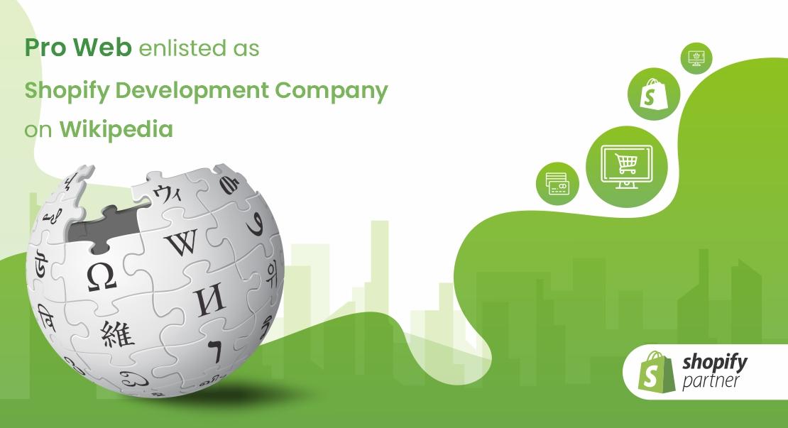 Shopify Development Company on Wikipedia