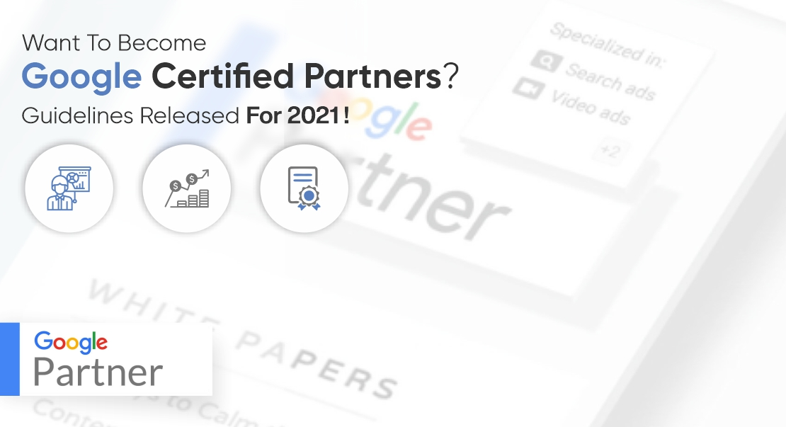 Google certified partners guidelines
