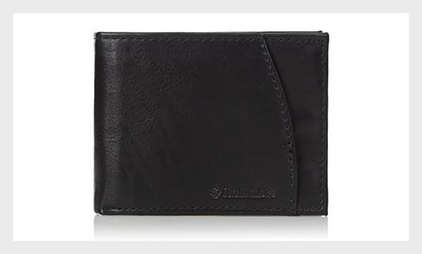 Columbia Men Leather RFID Wallet