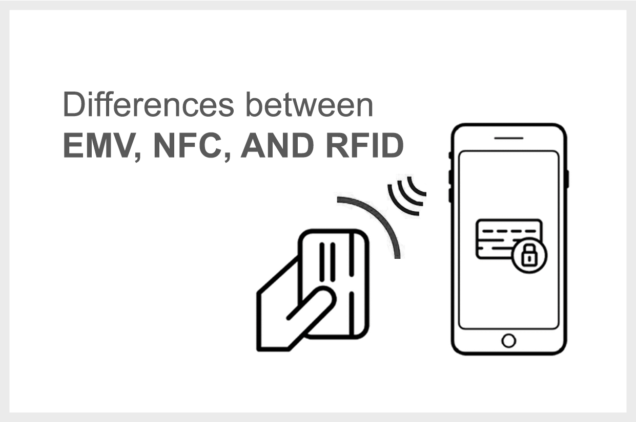 difference between EMV-RFID-NFC