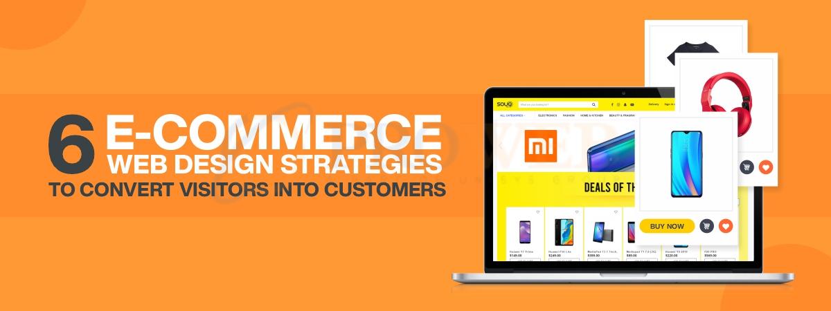 E-commerce Web Design Strategies