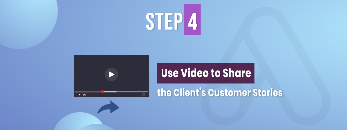Use video to share