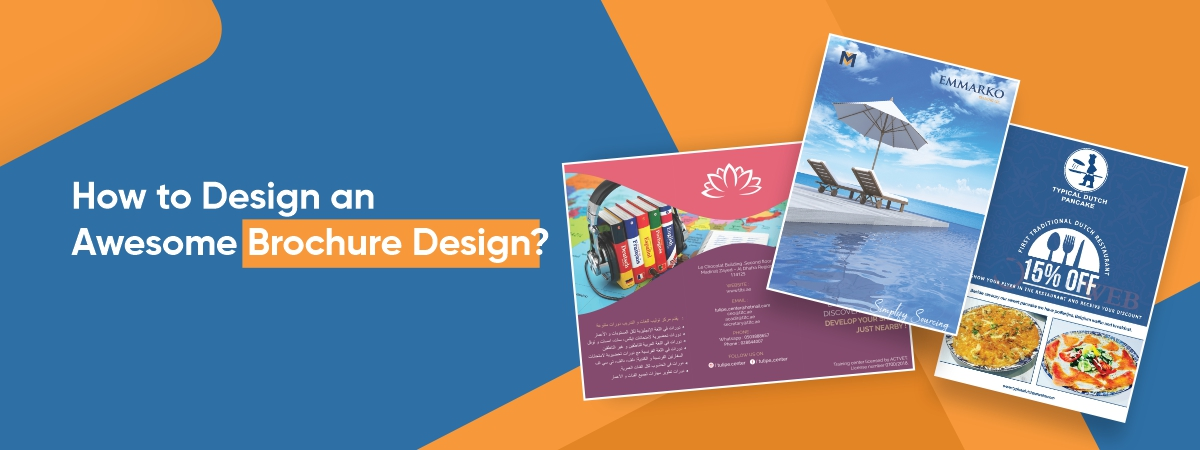 How to Design an Awesome Brochure Design