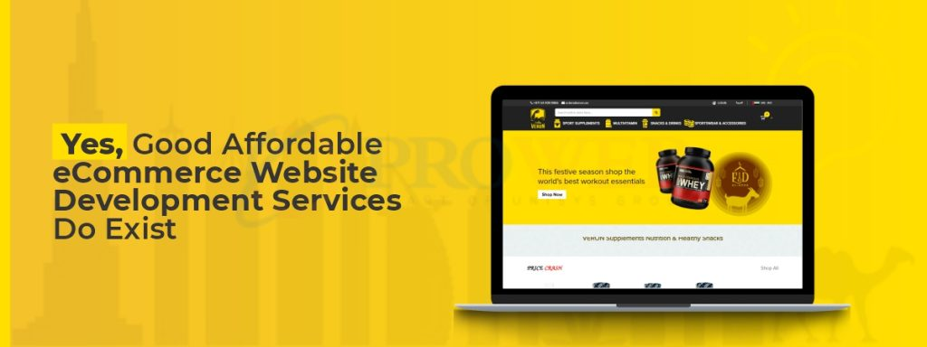 Yes, Good Affordable eCommerce Website Development Services Do Exist
