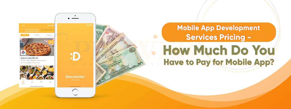 Mobile App Development Services Pricing
