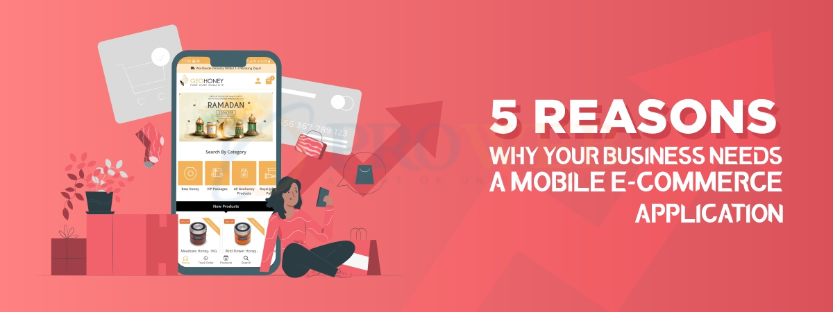 5 Reasons Why Your Business Needs a Mobile E-Commerce Application