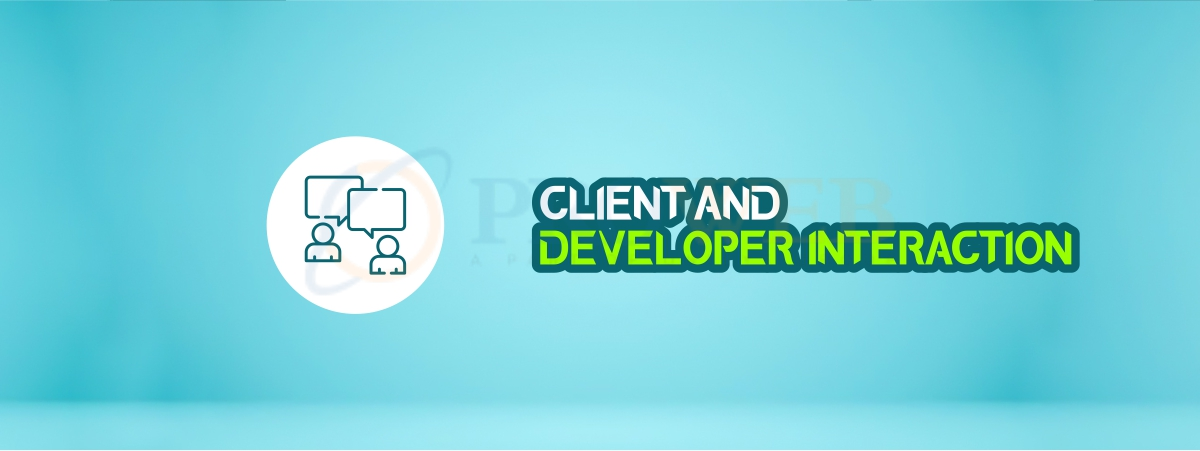 Client and developer interaction
