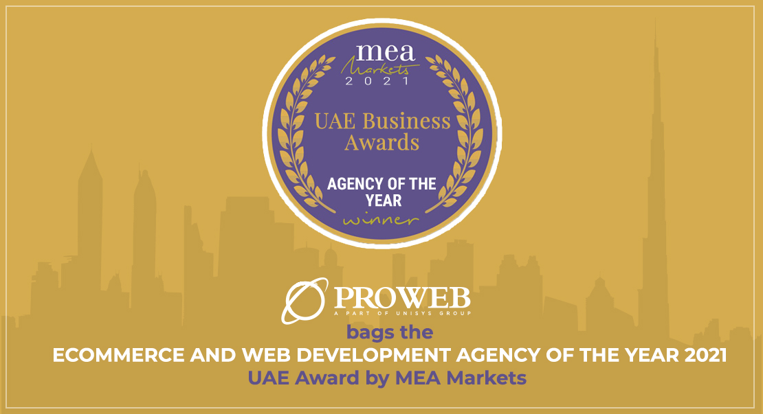 Ecommerce and Web Development Agency of the Year 2021 - UAE