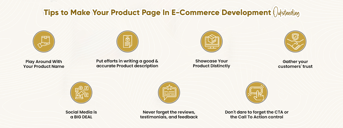 Tips to make your product page in e-commerce development outstanding