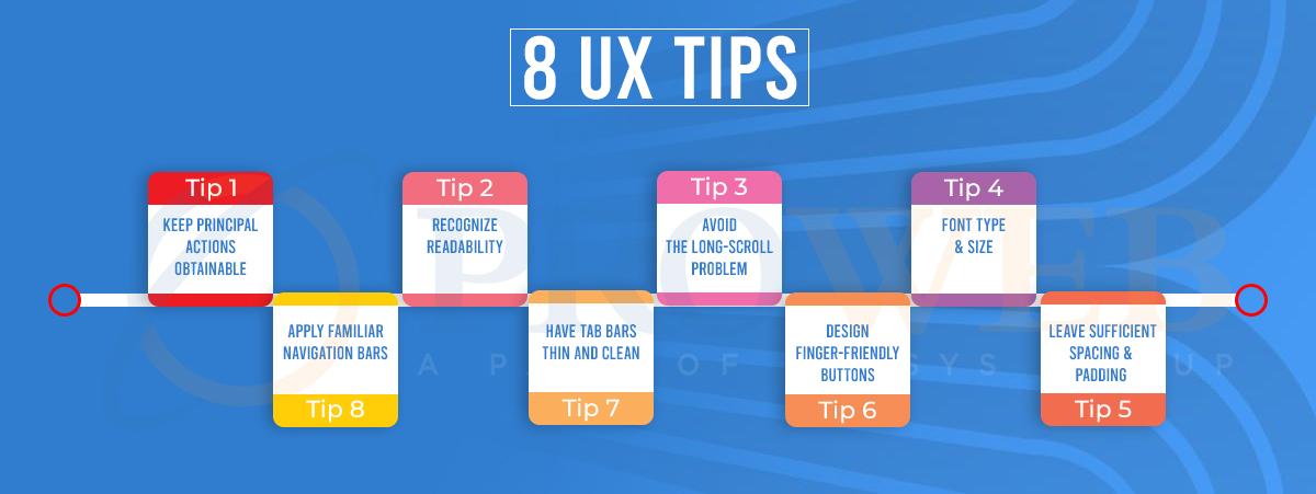 8 UX Tips