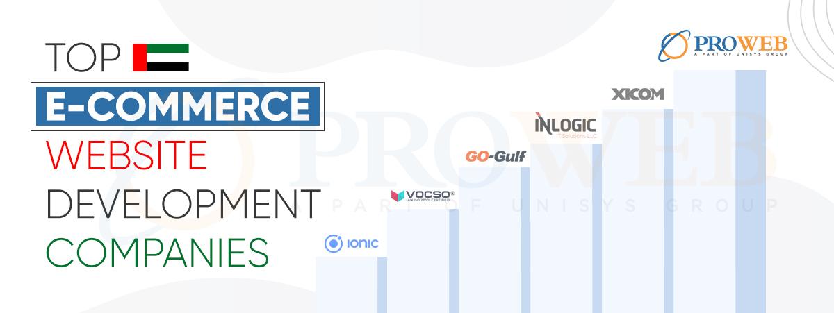 Top ecommerce website development companies