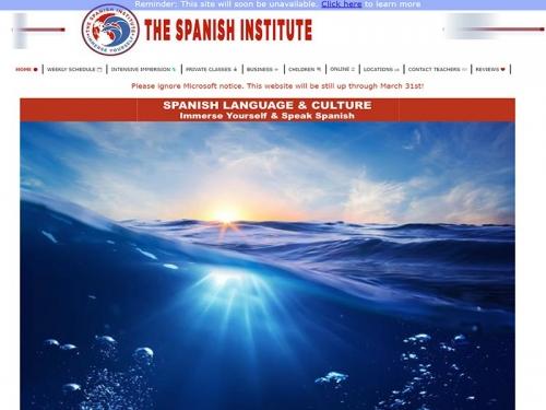 thespanishinstitute.org