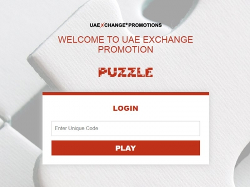 UAE Exchange Puzzle Game