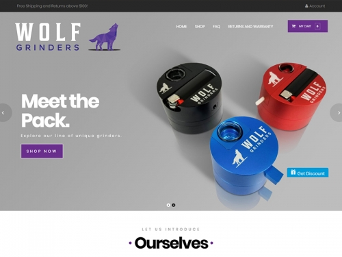 wolfgrinders.com